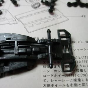 ハセガワ 1/72 M3A1 ハーフトラック(その3)