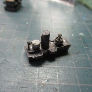 ハセガワ 1/700 旧キット 重巡洋艦 古鷹 を作る(その6)