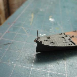 ハセガワ 1/700 旧キット 重巡洋艦 古鷹 を作る(その20)