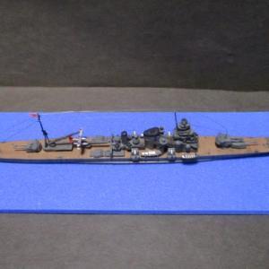 ハセガワ 1/700 旧キット 重巡洋艦 古鷹 完成(その22)