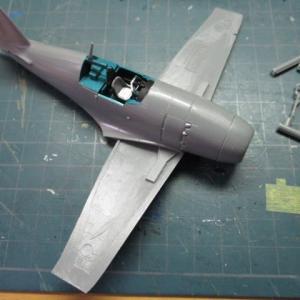 ハセガワ 1/72 雷電21型を、つくる(その5)