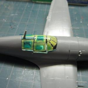 ハセガワ 1/72 雷電21型を、つくる(その6)