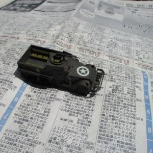 ハセガワ 1/72 M3A1 ハーフトラック(その13)