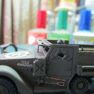ハセガワ 1/72 M3A1 ハーフトラック(その14)