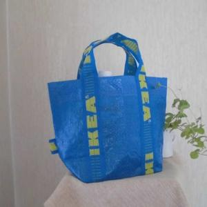 IKEAの青いバッグを今さらリメイクとパン、野木町煉瓦窯。