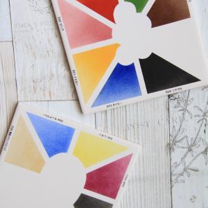 ポーセラーツ インストラクター課題 上絵の具の色見本
