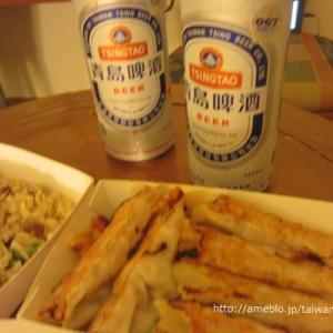 ホテルで餃子とビールを飲んで夕食にしました【3日目】