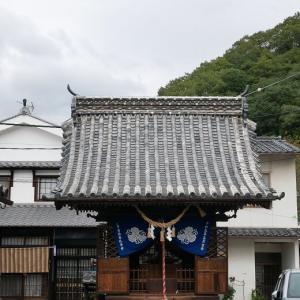 映画の舞台になった胡堂 (広島県竹原市)