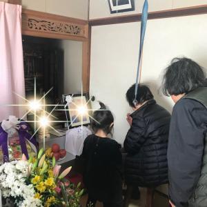 モチャさんの父親方のヒィお婆ちゃんが亡くなりました。