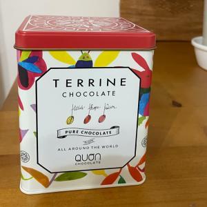 QUON チョコレートを頂きました。