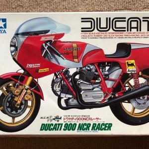 タミヤ1/12 DUCATI 900 NCR RACER vol.41(完成画像)