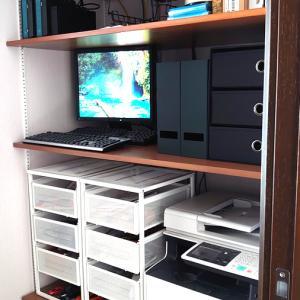 サーバラックを整理する、PC機器や棚を整頓