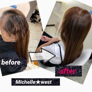 約半年ぶりのイチゴカラー&髪質改善