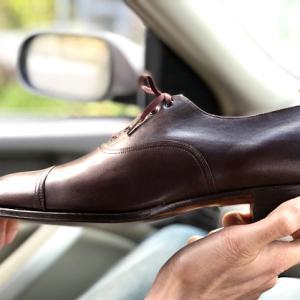 1930年代の靴?GERMAINA CAP TOE。