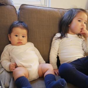 【海外で子育て】2歳差育児。