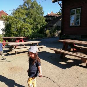 【ノルウェー】通常に稼働の幼稚園。