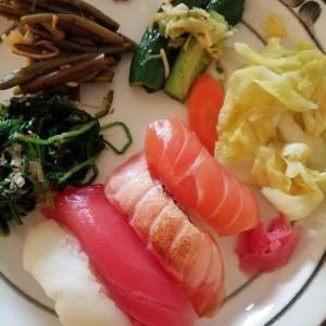 【イデラン家の食卓】ワンプレートお鮨夕食。