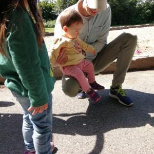 【海外で子育て】初めての地上。