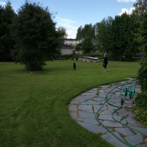 【夏休み2020】庭で走るだけで楽しい。