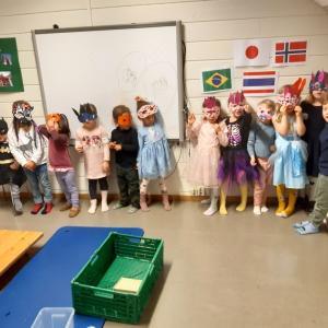 【海外で子育て】幼稚園で国連デーのカーニバル。