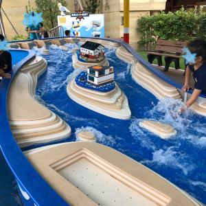 レゴのボートでびしょびしょ水遊び@レゴランド