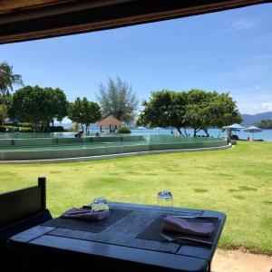 リゾートのビュッフェとオーダー式な朝ごはん@ Naka Island  Resort