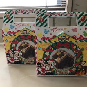 今年はディズニーのチョコレートのお菓子の家