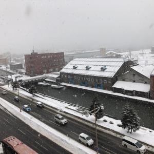 ホテルの朝ごはんで人生初 in 小樽 北海道スキー旅行