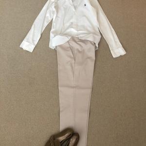 キリリと白シャツで七夕の願いはエコバック