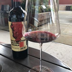 有言実行 久しぶりの赤ワインで乾杯