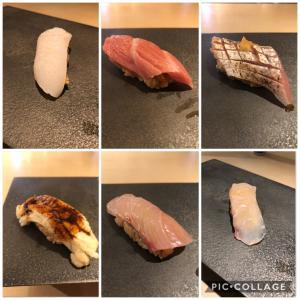 初めてのカウンターでのお寿司