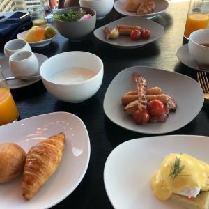 コースでゆっくり優雅な朝ごはん@ Mesm Tokyo