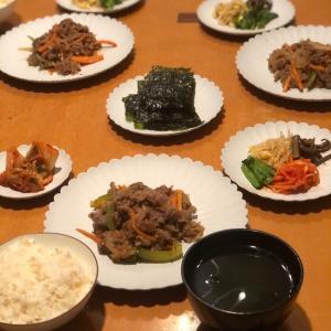 韓国大使館御用達?なキムチとナムルで韓国風ディナー