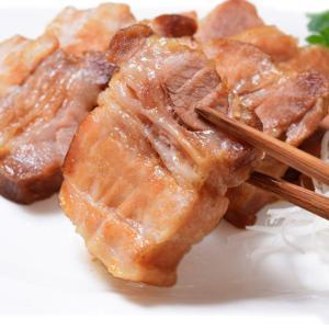 【お取り寄せ】豚バラつるし焼豚ブロック1kg  訳あり