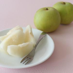 到着♪ちょっと違った福島の梨 旬食福来クーポンで20%オフ