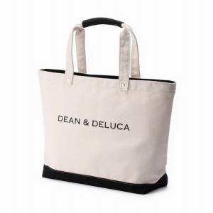 【お取り寄せ】一家族一つのみ♪DEAN & DELUCA 新作キャンバストートバッグ