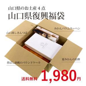 レスキュー ♪山口県のお土産お菓子4点セット