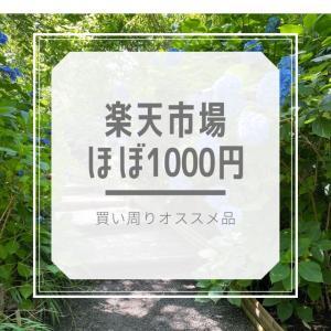 ほぼ1000円♪楽天お買い物マラソン買い周りに