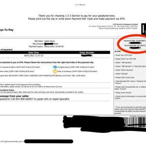 タイのApple StoreをATM Bank TransferかつATMカード無しで銀行アプリから支払う方法(バンコク銀行の場合)