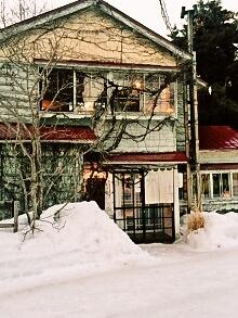 暖炉のあるカフェを求めて、円山へ行きました~森彦
