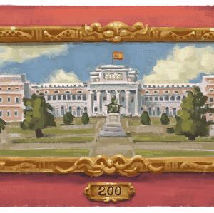 プラド美術館200周年:Googleトップページも特別イラストに変更
