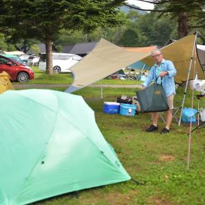 お盆休みで『高原キャンプ』その1