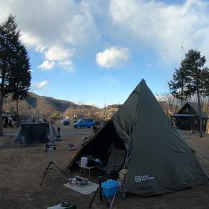 2021年1月9日、-10度ソロキャンプ『スプラッシュガーデン秩父オートキャンプ場』