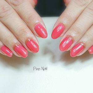魅惑の赤で色気爪  #maogel302 ドキドキ