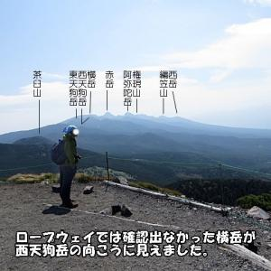 北横岳(八ヶ岳) ロープウェイで楽々登山