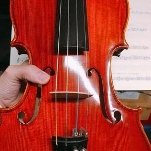 バイオリンの練習なんかできない