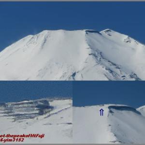 image3152 ポケカメで富士山頂を写す