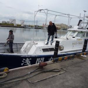 19日~21日 船体整備しました。