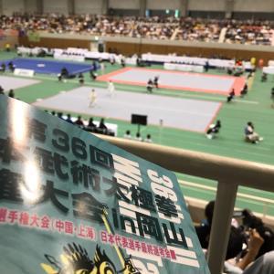 2019年太極拳全国大会行ってきました(^^)/
