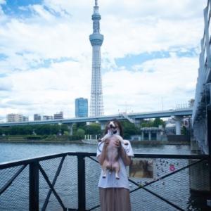 東京ミズマチに行ってきたよ! Heidi took a walk from Asakusa to TokyoSkytree